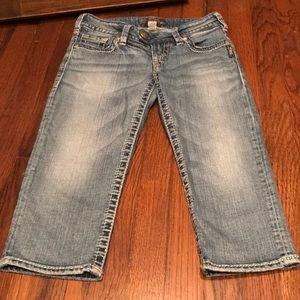 Silver Tuesday BERMUDA Crop Jeans